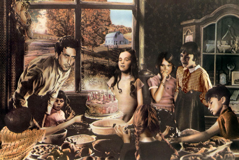 Guy Peellaert.    Robert Zimmerman, His Journeys and Adventures : Country Bob,  from  Rock Dreams (1970-1973)