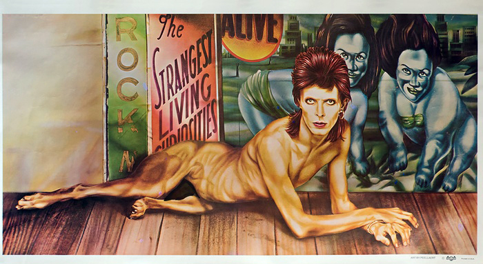 Guy Peellaert.  Diamond Dogs  (1974). Lithograph. The Museum of Modern Art, New York. Gift of Lawrence Benenson.