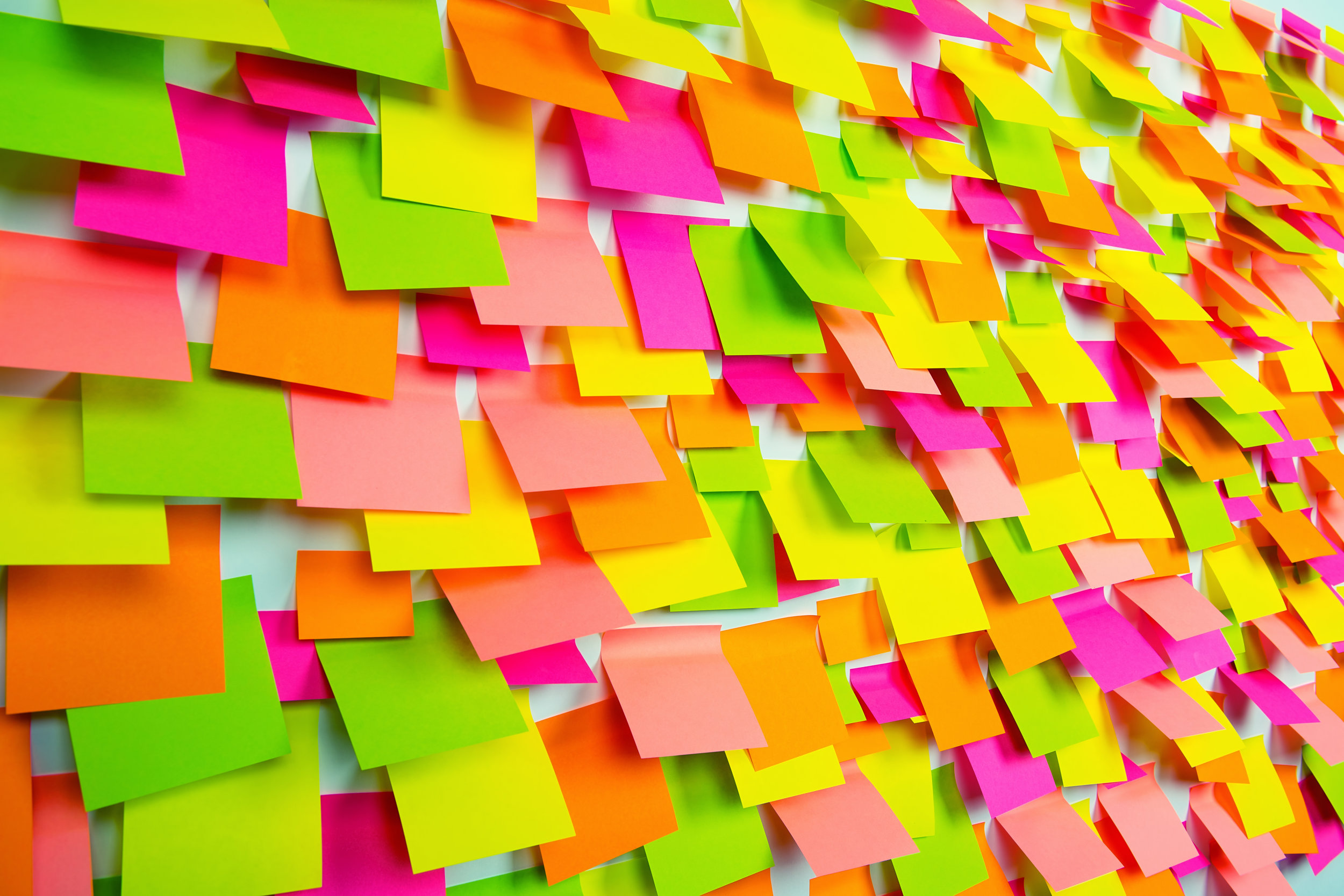 Hmmm…so many passwords, so many post-its!