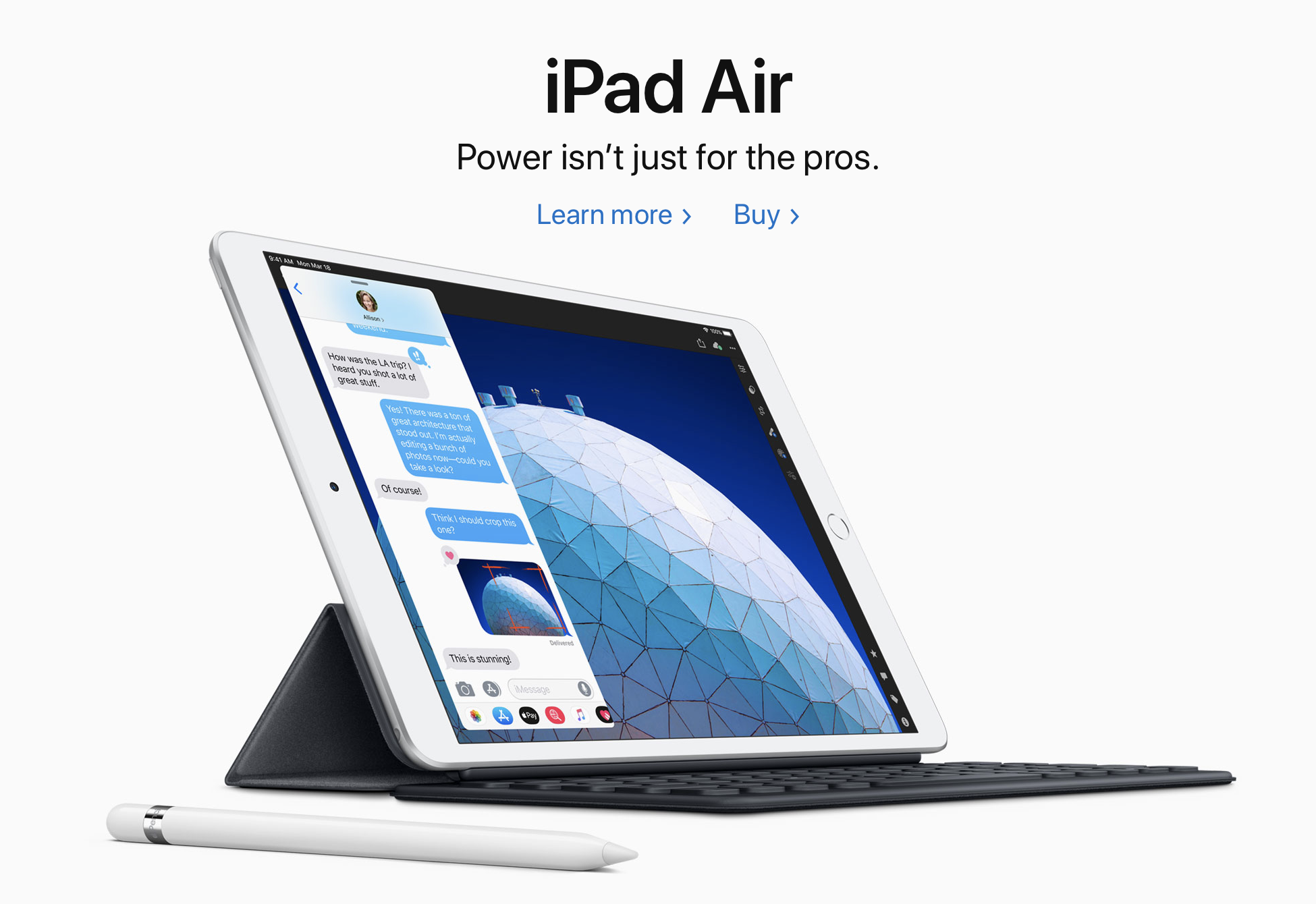 the new iPad Air