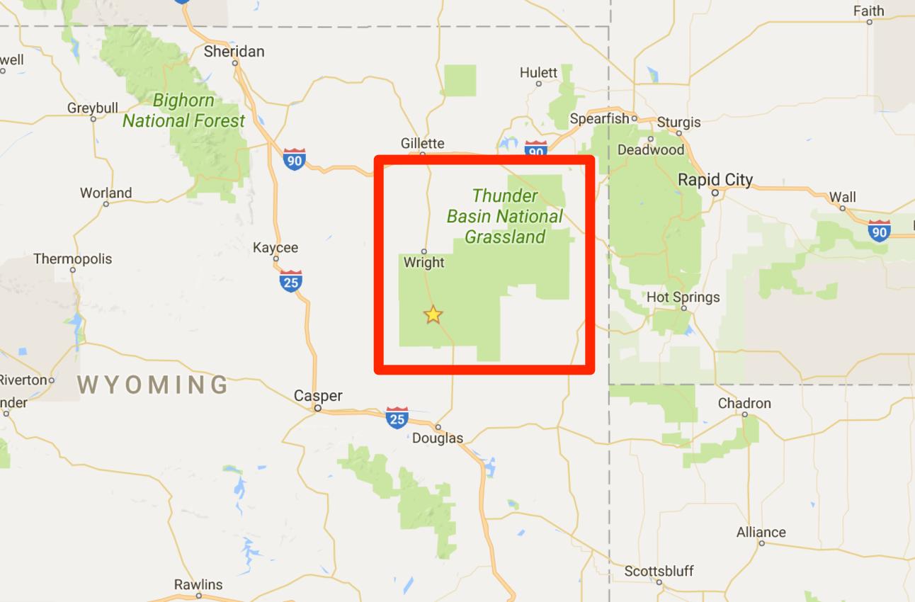 Thunder Basin National Grassland, Wyoming