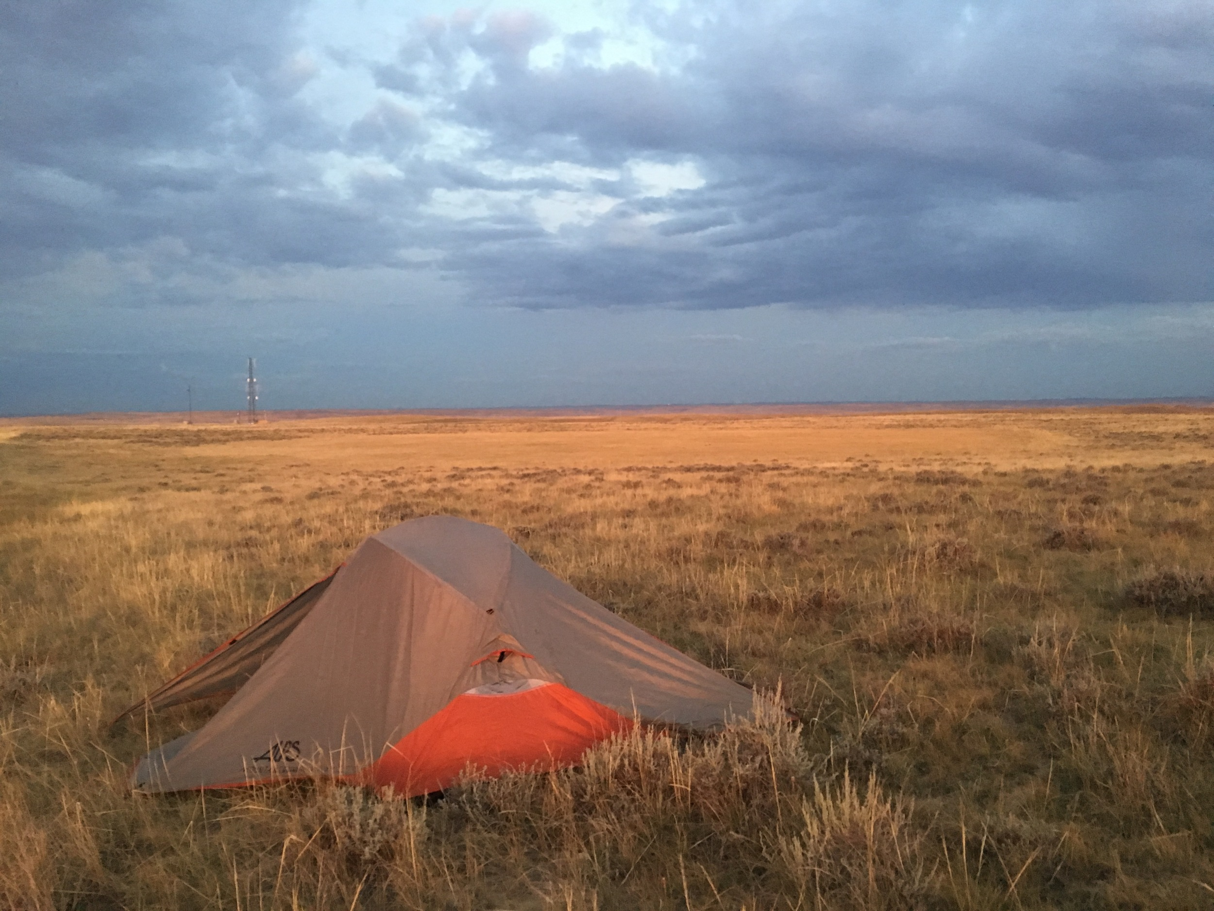 Camping on the Grasslands