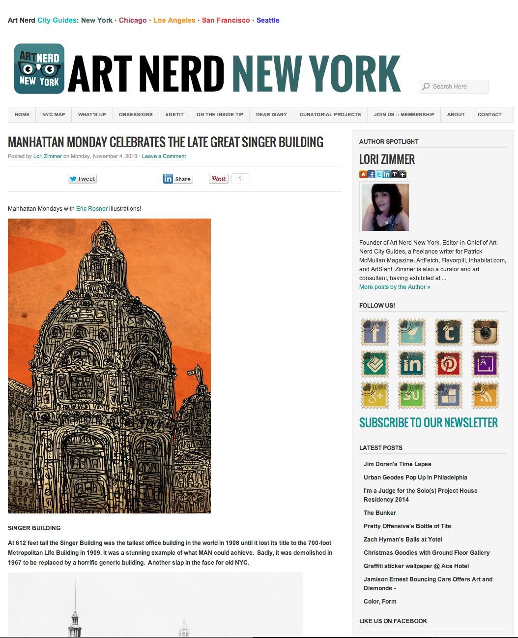 art nerd, new york city