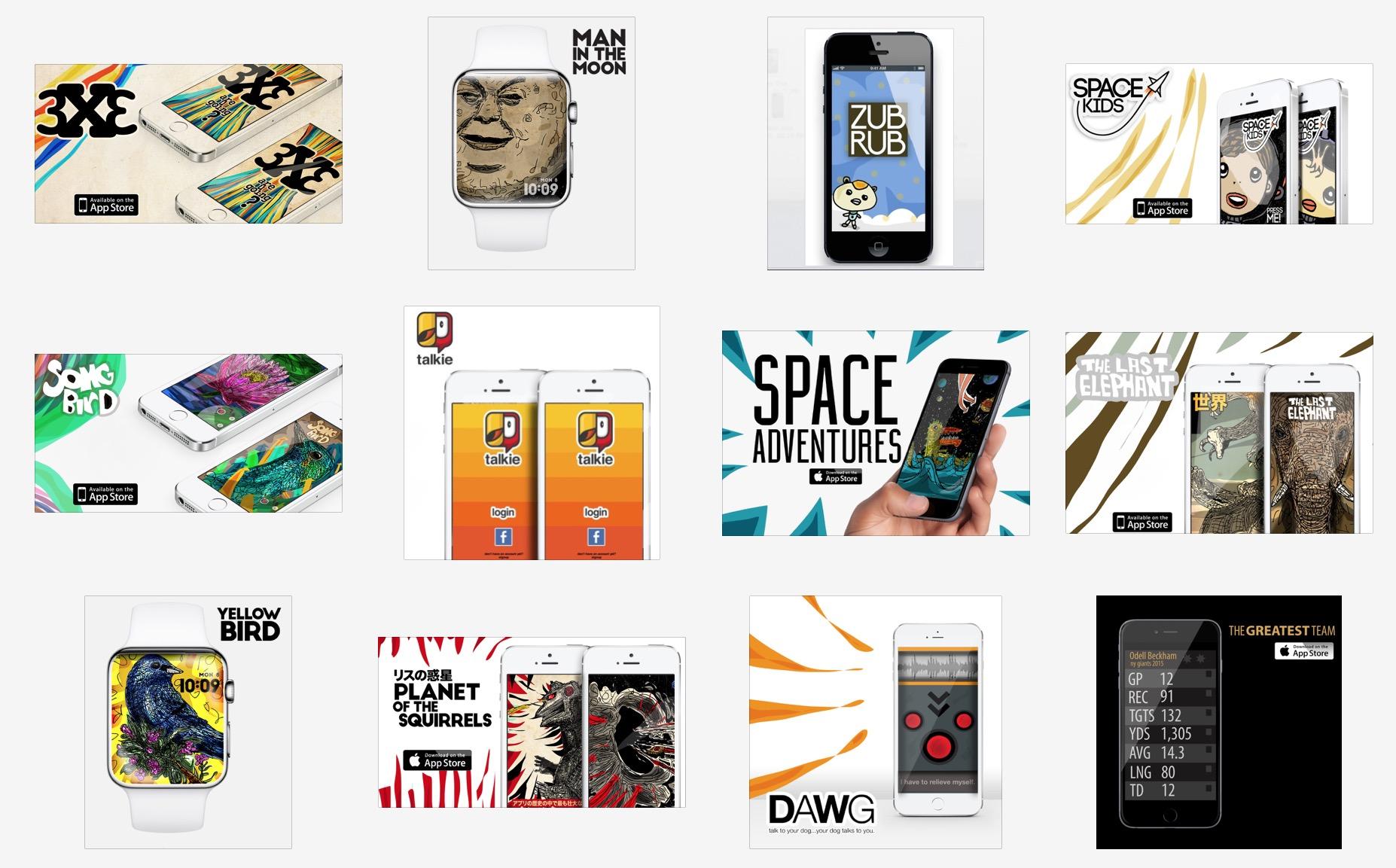 IOS app designs.