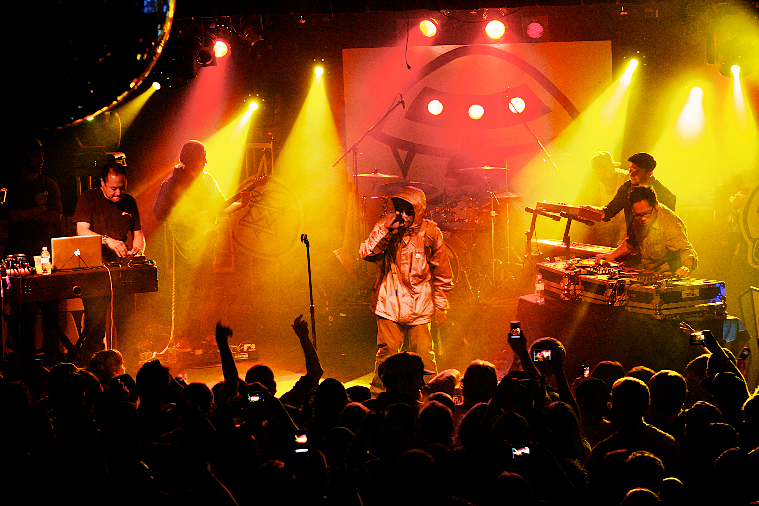 Deltron 3030 playing to a sold out Cervantes Masterpiece Ballroom (Photo credit: Robert Castro)