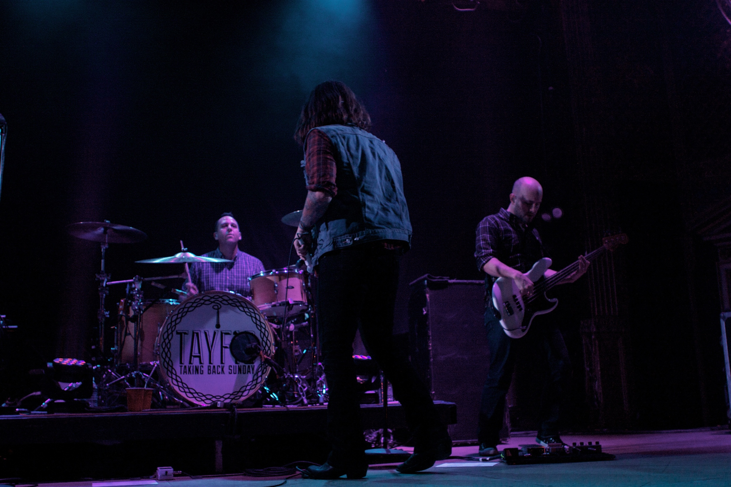 Taking Back Sunday played to a sold out Ogden crowd this past Sunday (Photo Credit: Matt Smith)