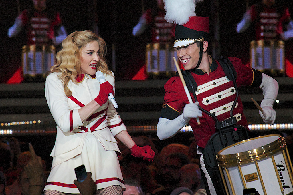 """Madonna performing """"Express Yourself"""" (Photo Credit: Robert Castro)"""