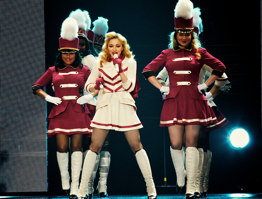 Madonna and her elaborate production took over Denver (Photo Credit: Robert Castro)