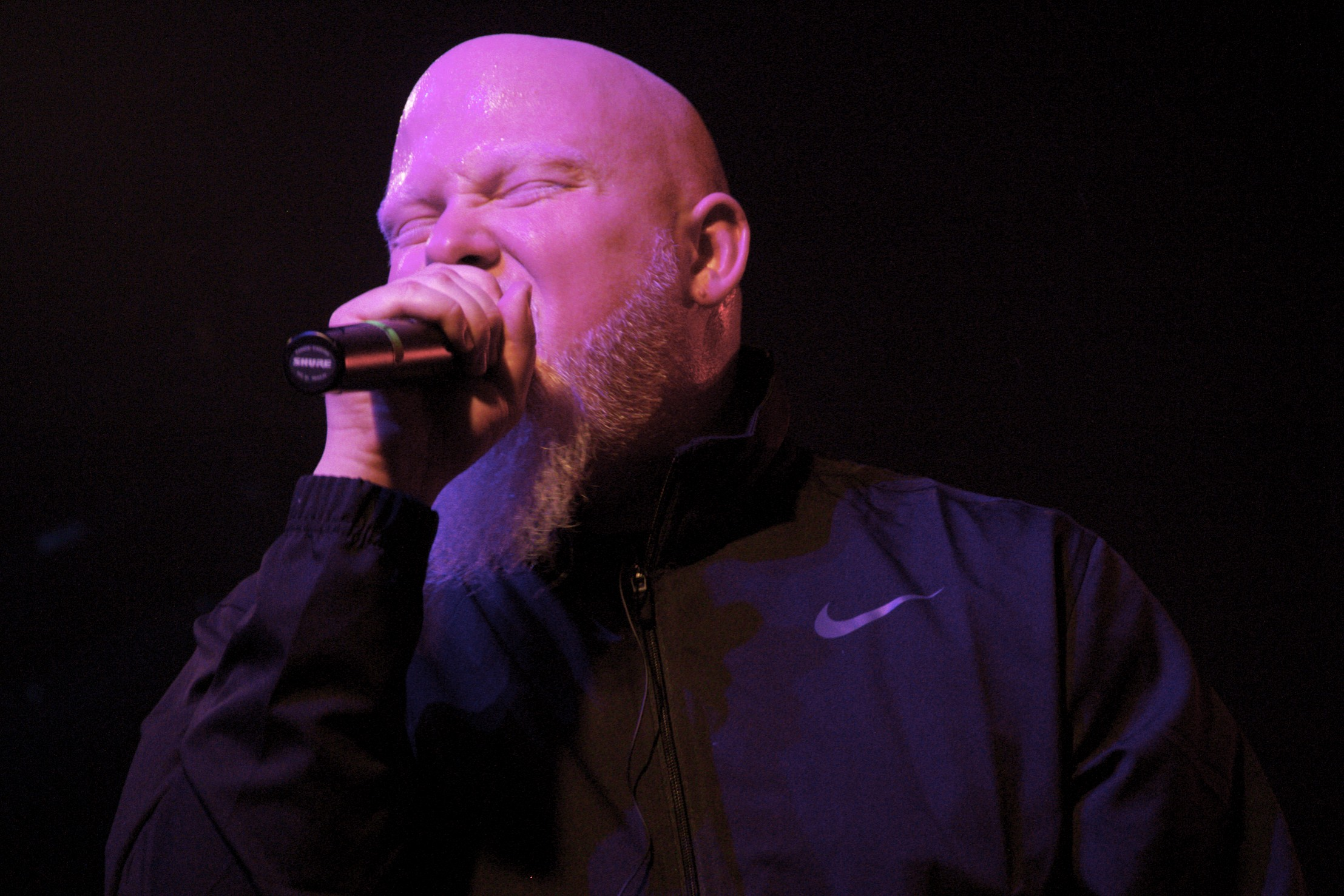 Headliner Brother Ali doing what he does best (Photo Credit: Maddie Casey)