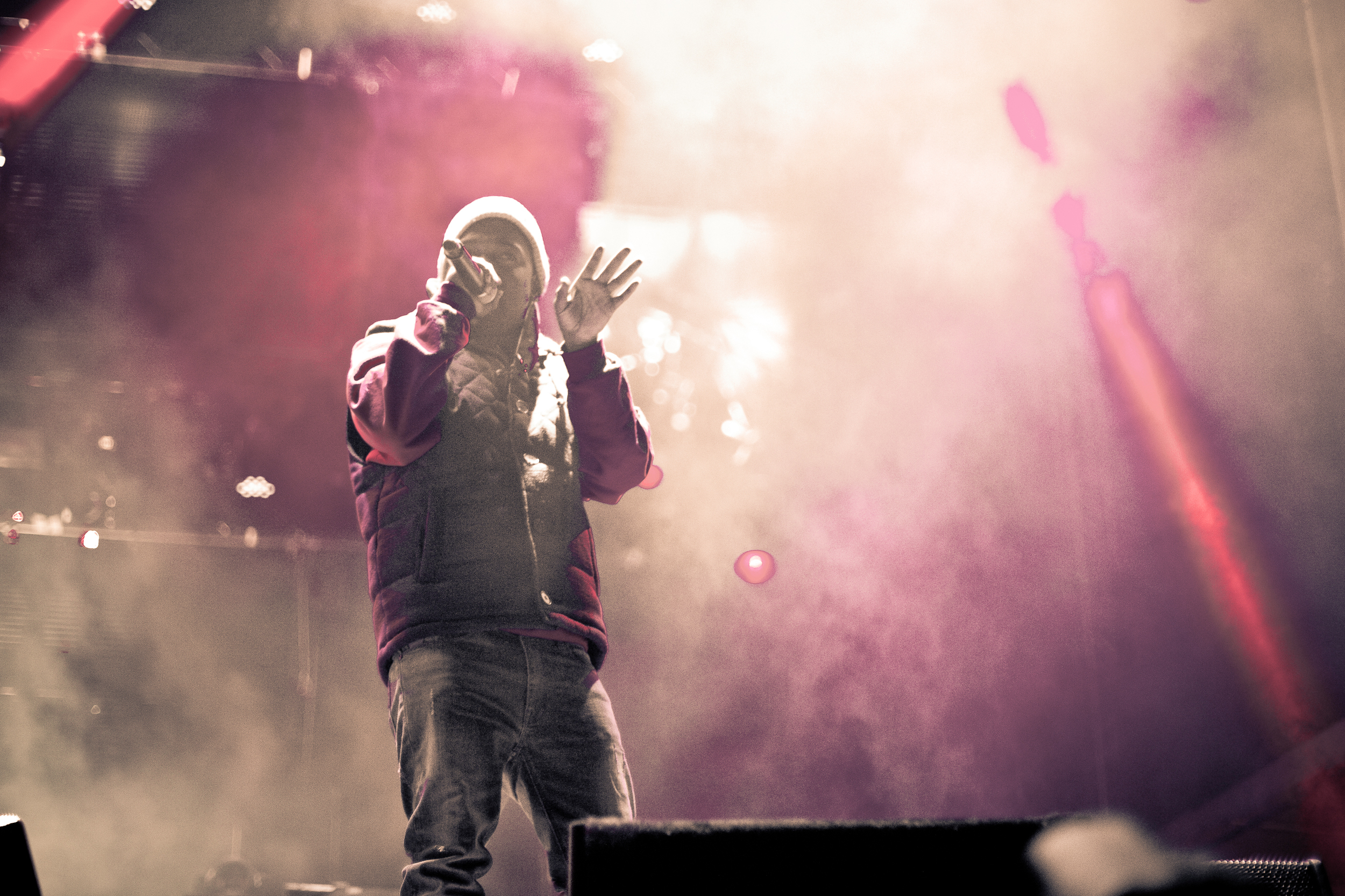 The hottest MC in the game right now Kendrick Lamar (Photo Credit: Blake Gavaldon)