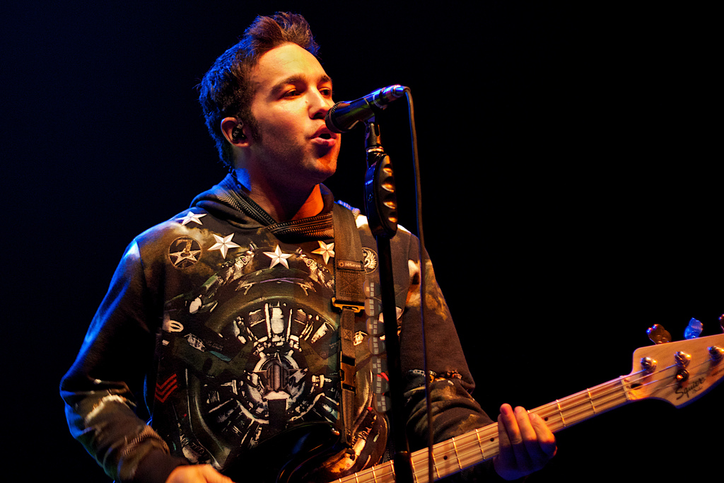 Pete Wentz of Fall Out Boy (Photo Credit: Robert Castro)
