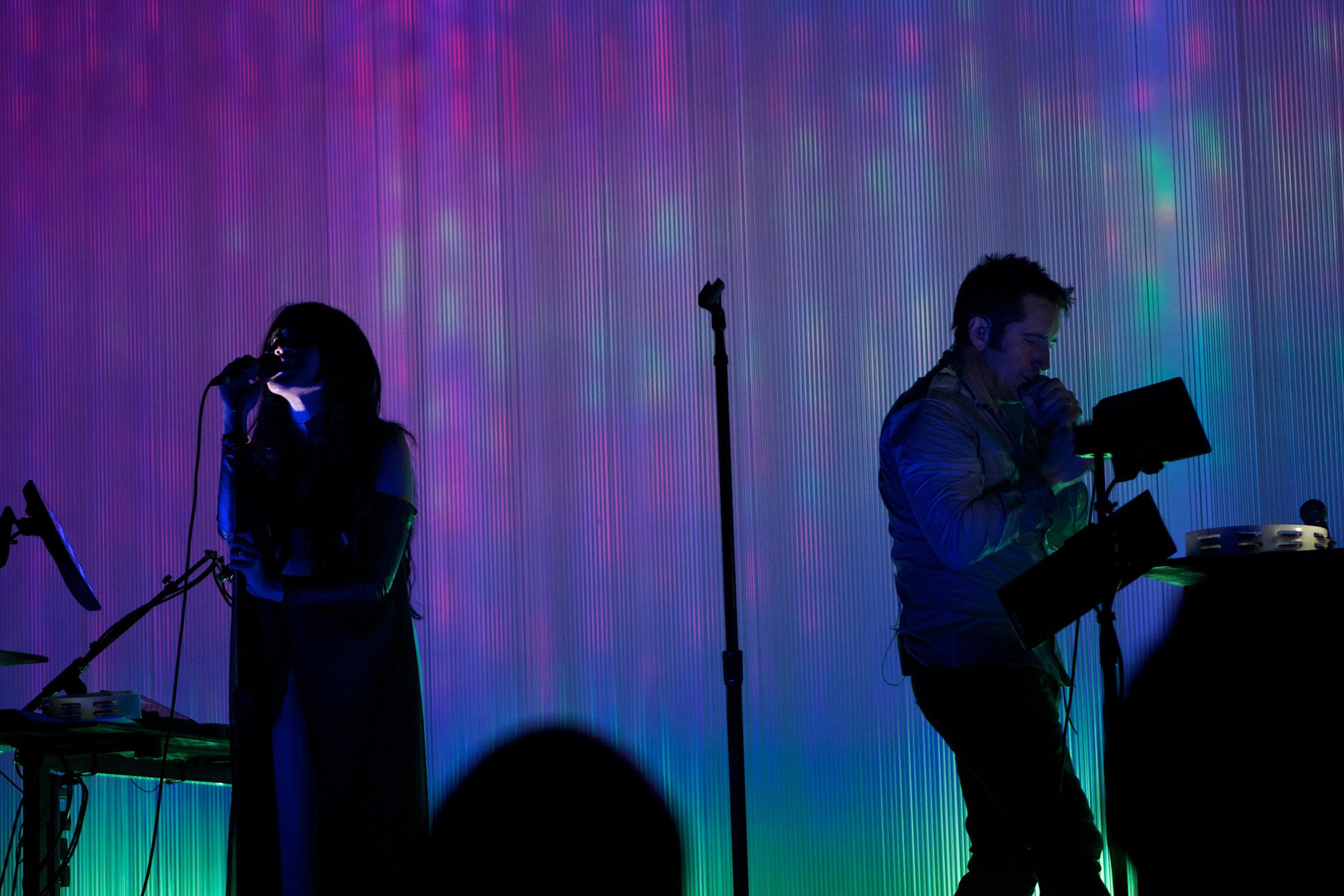 Mariqueen Maandig and Trent Reznor (Photo Credit: Robert Castro)