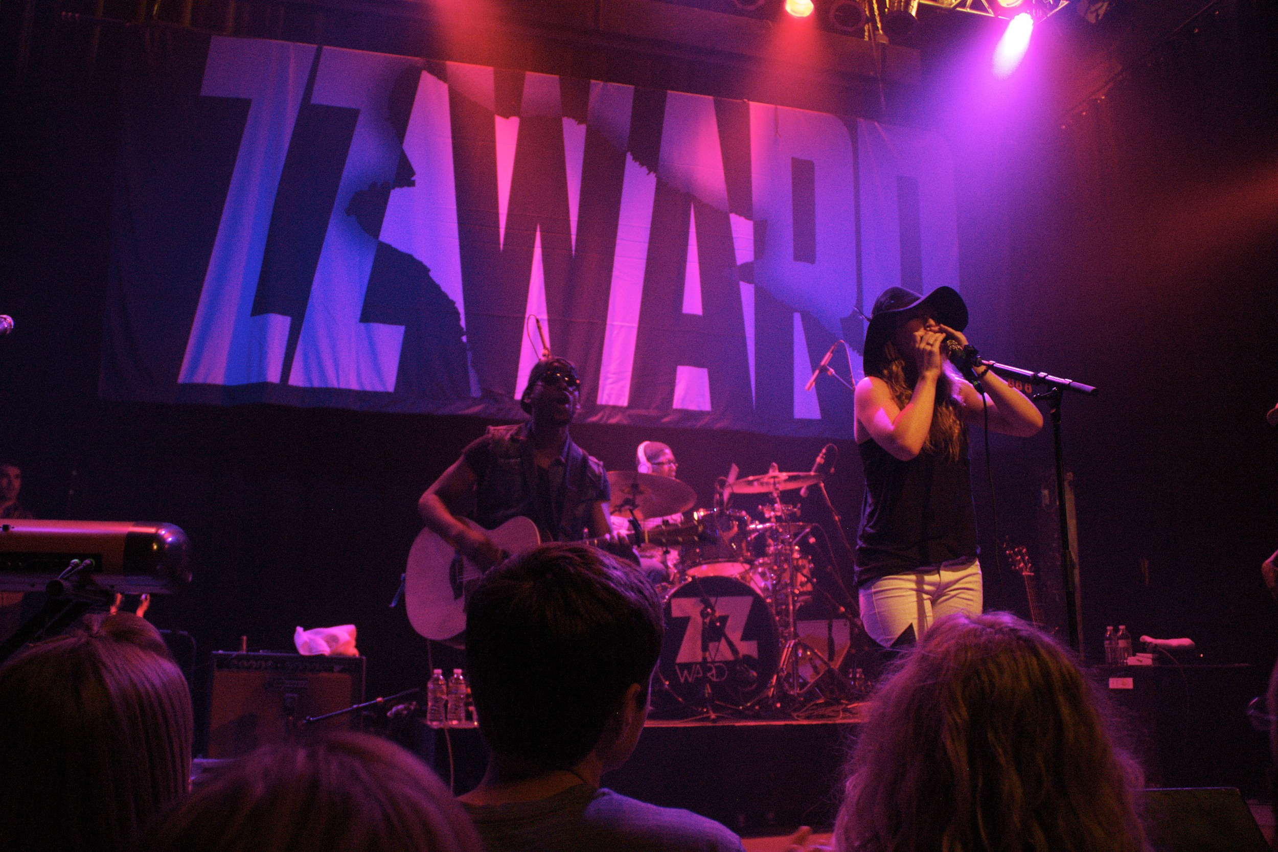 ZZ Ward playing to a sold-out Gothic crowd (Photo Credit: Maddie Casey)