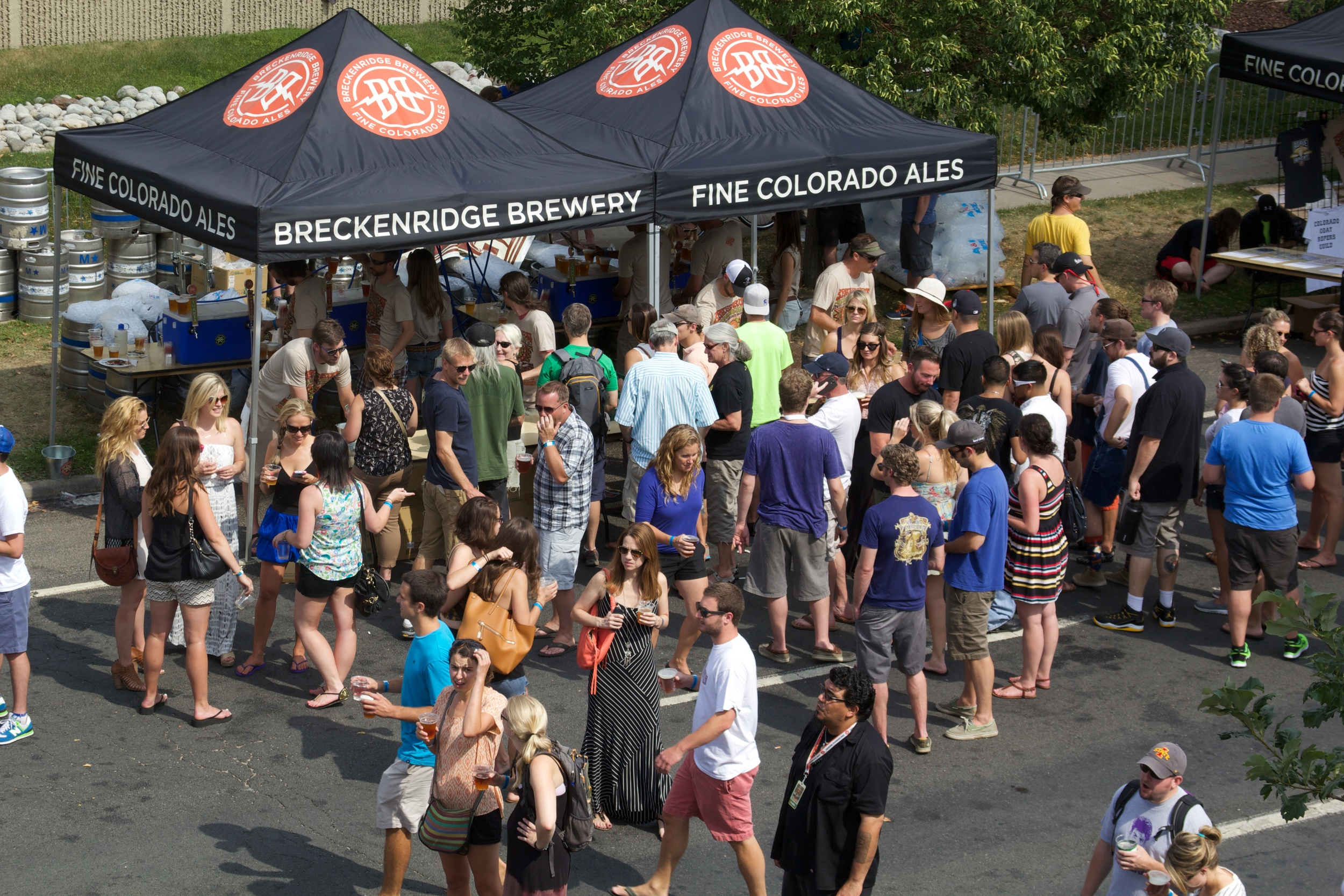 Breck Brew packed their annual block party this year with record breaking crowds. (Photo Credit: Robert Castro)
