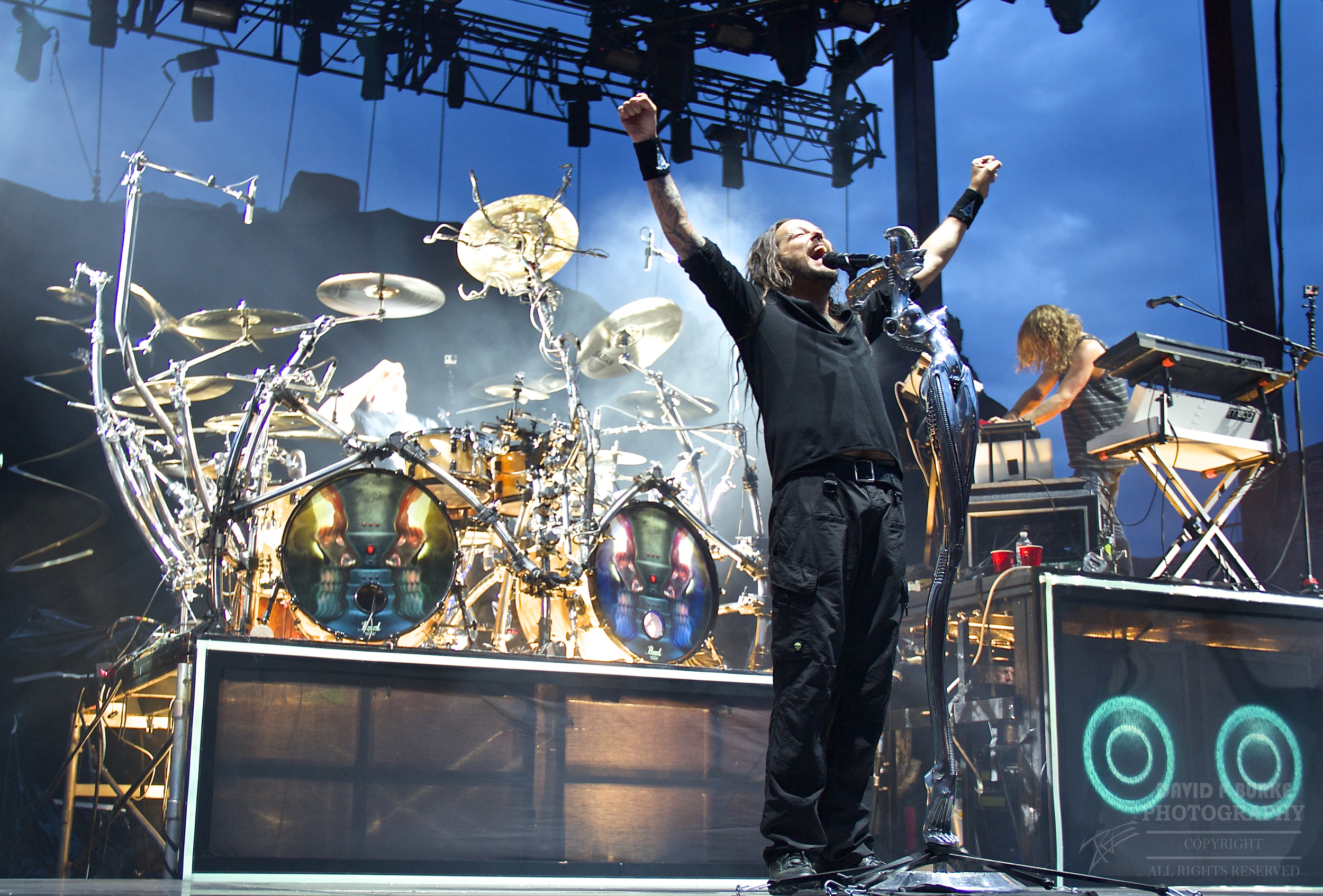 KoRn showing they still have it after all these years. (Photo Credit: David Burke)
