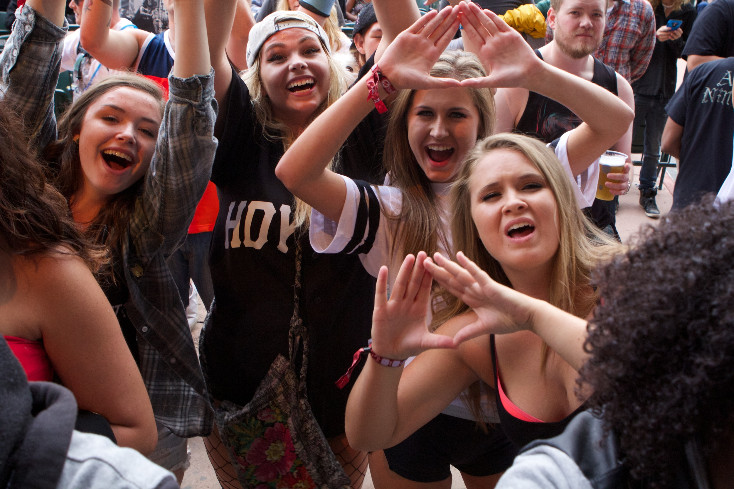 The HDYNATION was in the house for Flosstradamus (Photo Credit: Robert Castro)