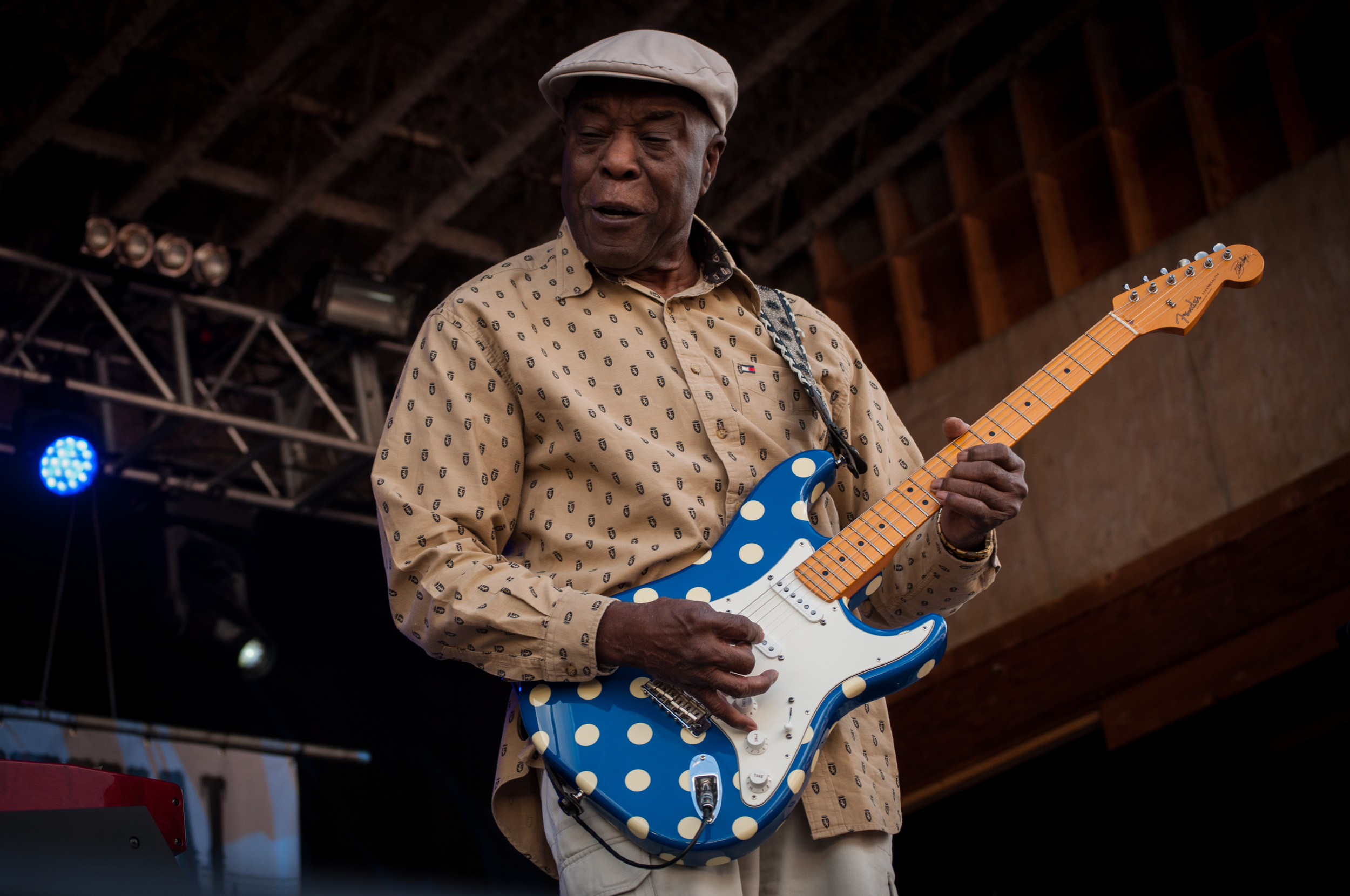 The legendary Buddy Guy (Photo Credit: Andrew Rios)
