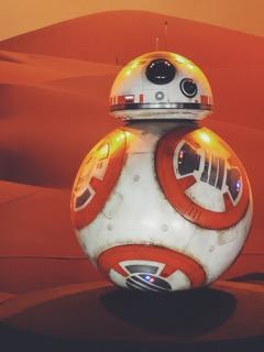 The newest droid in the Star Wars Galaxy BB-8 (Photo Credit: Juan Colmenero)