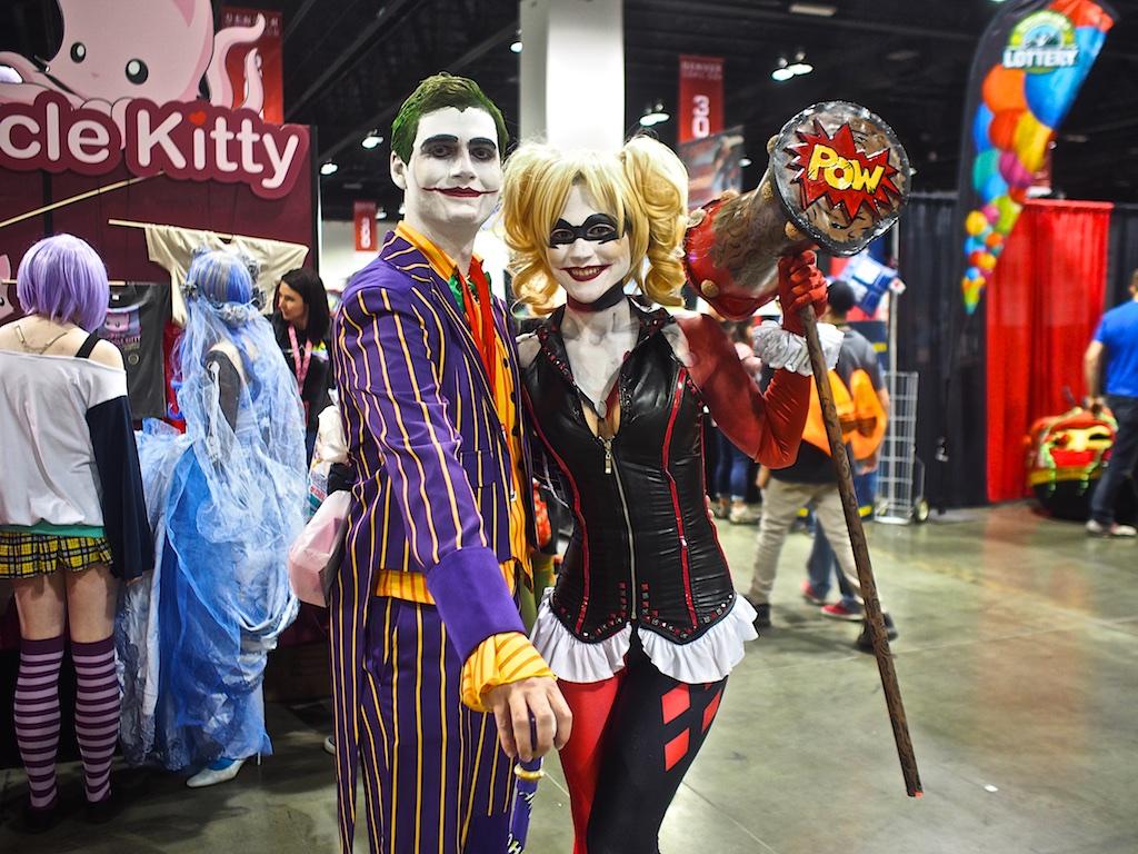 The Joker and Harley Quinn (Photo: Robert Castro)