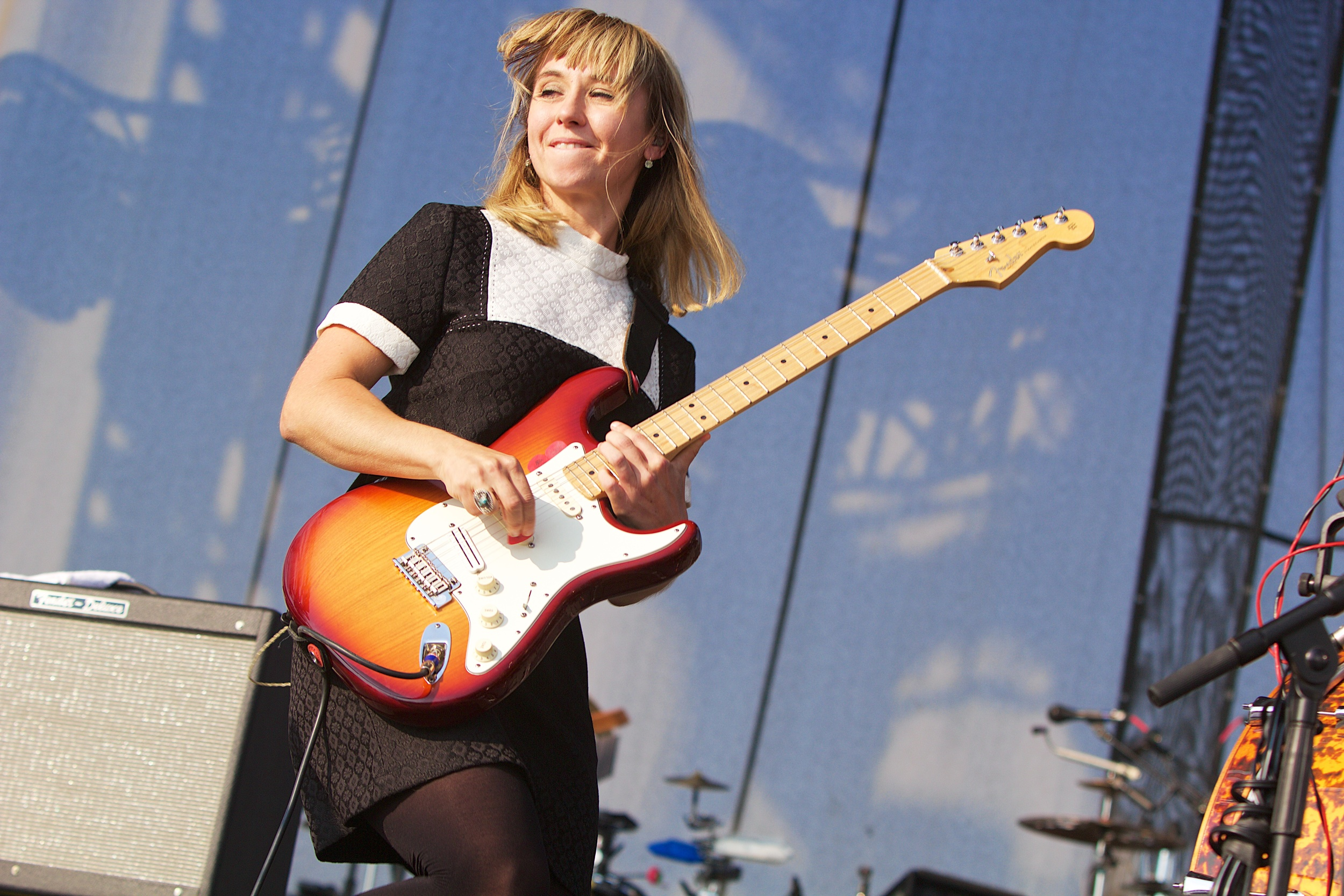 The joy of watching Ritzy and A Joy Formidable. (Photo Credit: Robert Castro)