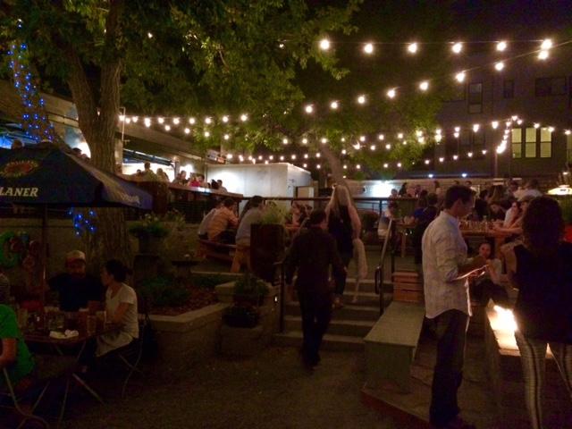 Recess Beer Garden Outdoor Area
