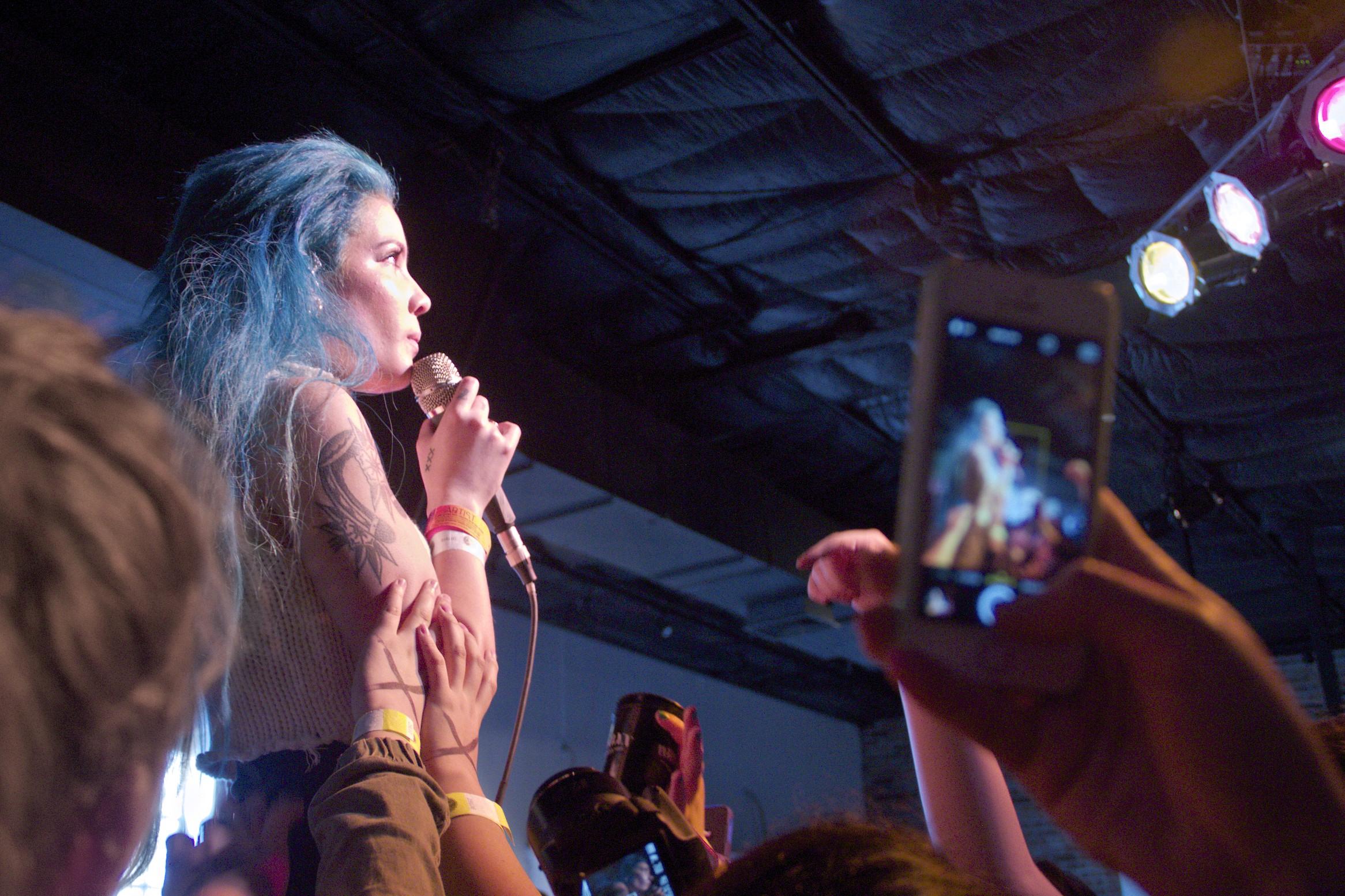 Halsey at SXSW 2015 in Austin, TX (photo credit: Maddie Casey/Ultra5280)
