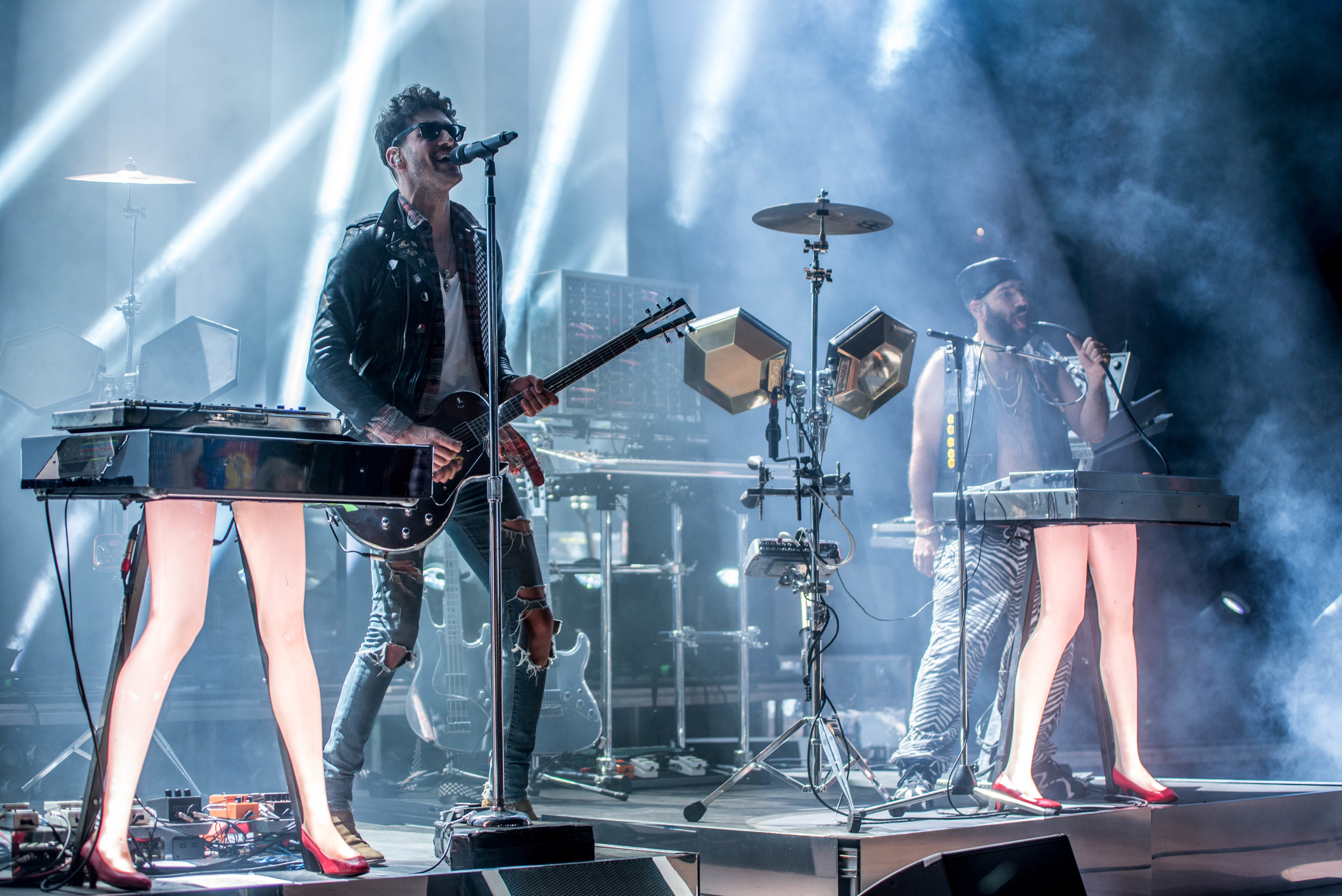 Chromeo during Funk On The Rocks  (photo credit: Andrew Rios/Ultra5280)