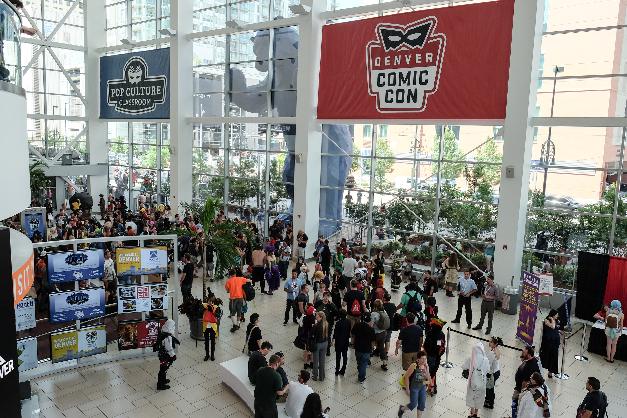 Record attendance of upward of 110,000+ at this years Denver Comic Con