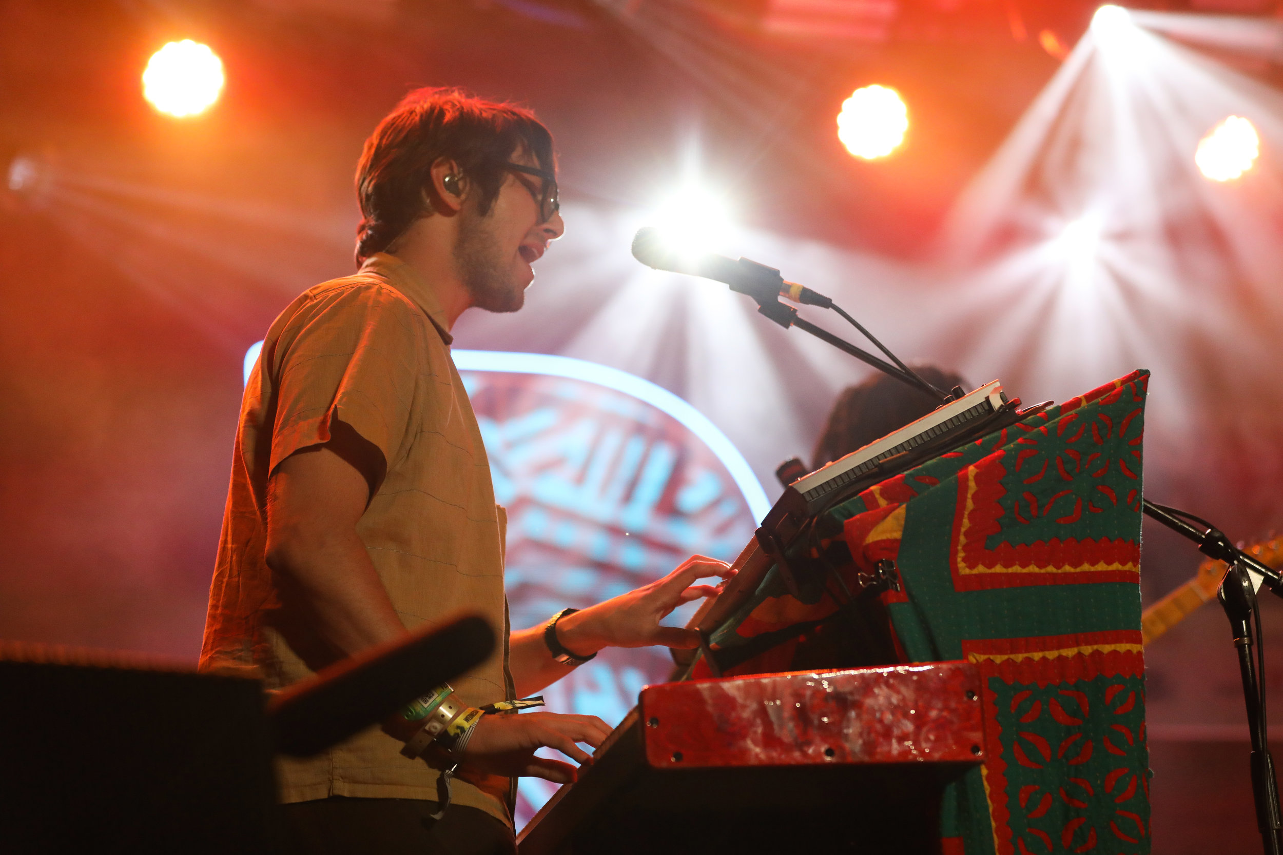 Lewis Del Mar performed at the Pandora stage March 15, 2017 during SXSW in Austin. Photo by Alyson McClaran