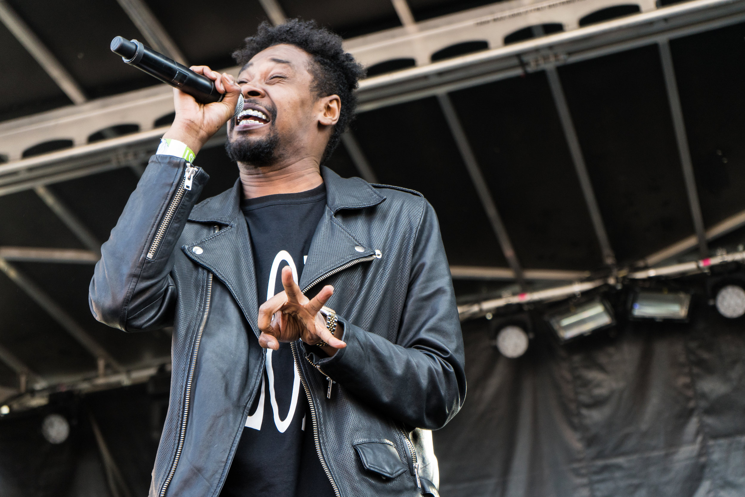 Danny Brown slaying during Project Past ( Photo Credit: Robert Castro)
