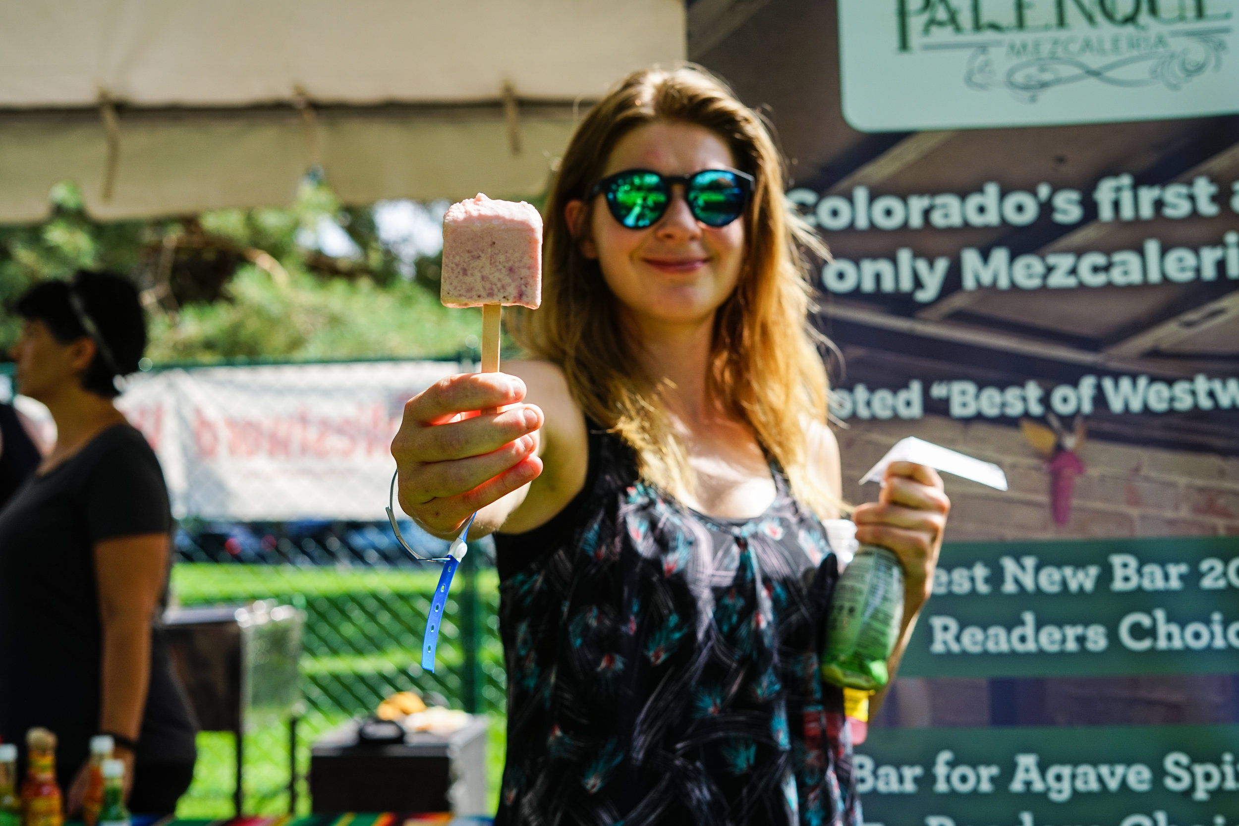 Aside from tacos, there were vendors sampling some tasty treats. (Photo Credit: Robert Castro)