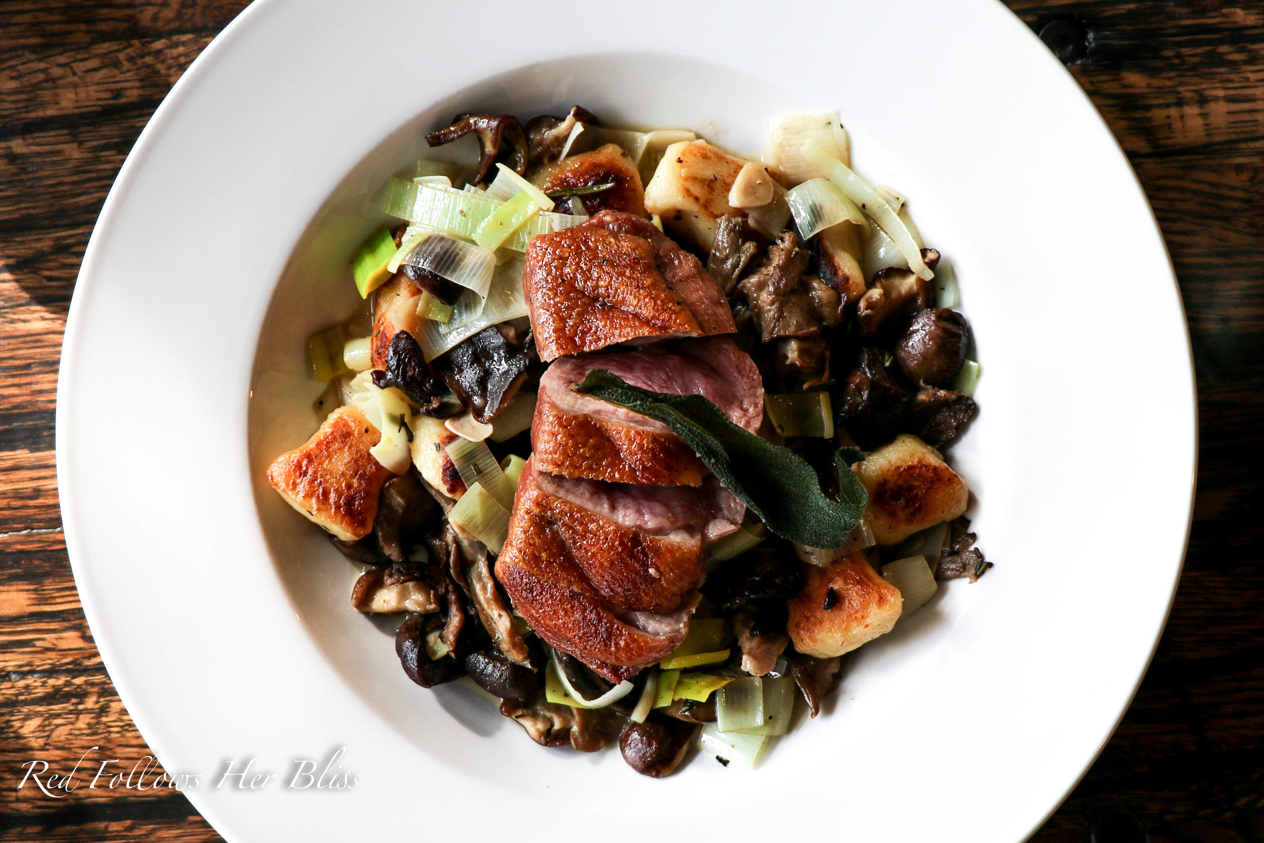 Maple Duck Breast