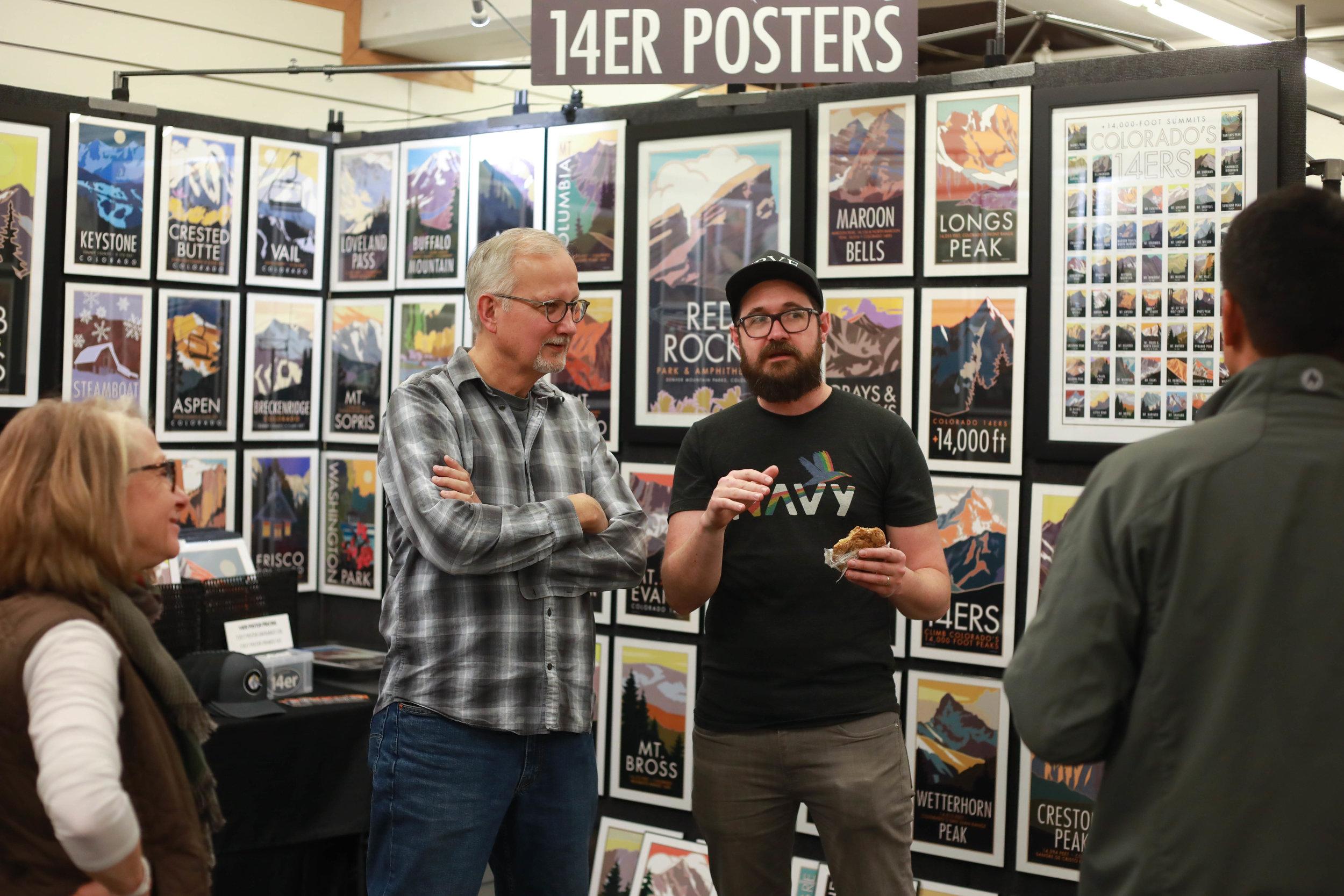 14er Posters talkin shop