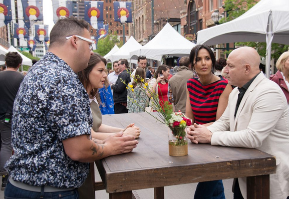 The Top Chef judges on Larimer Square