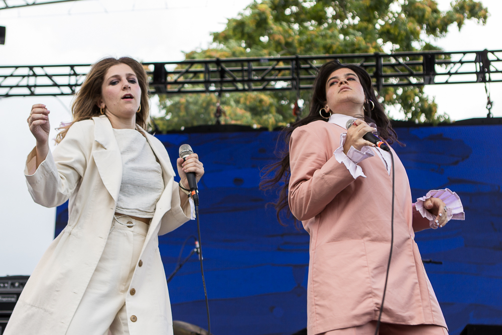 Friday night headliners The Overcoats got things started off. (Photo Credit: Robert Castro)