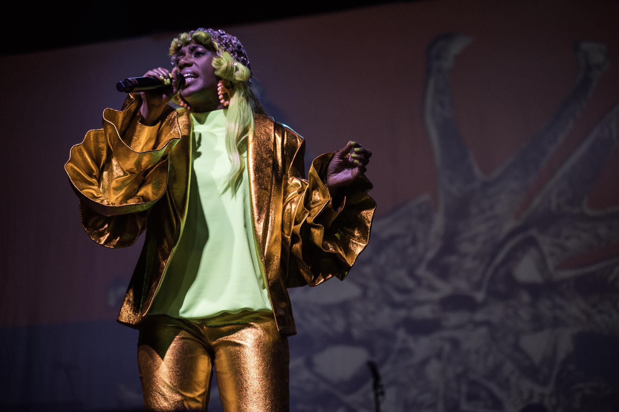 The amazing Santigold. (Photo Credit: Robert Castro)
