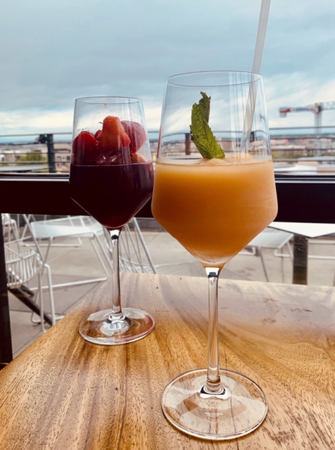 Rooftop Sangria & Apricot Frose
