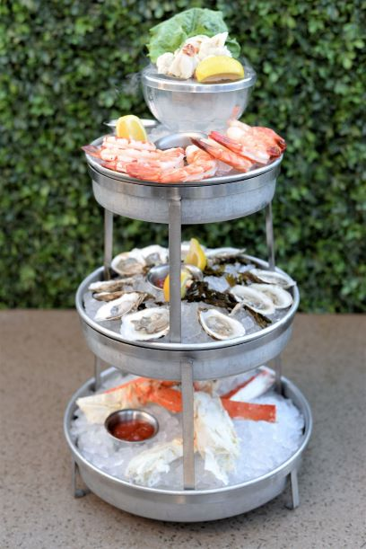 Smoking Shellfish Tower