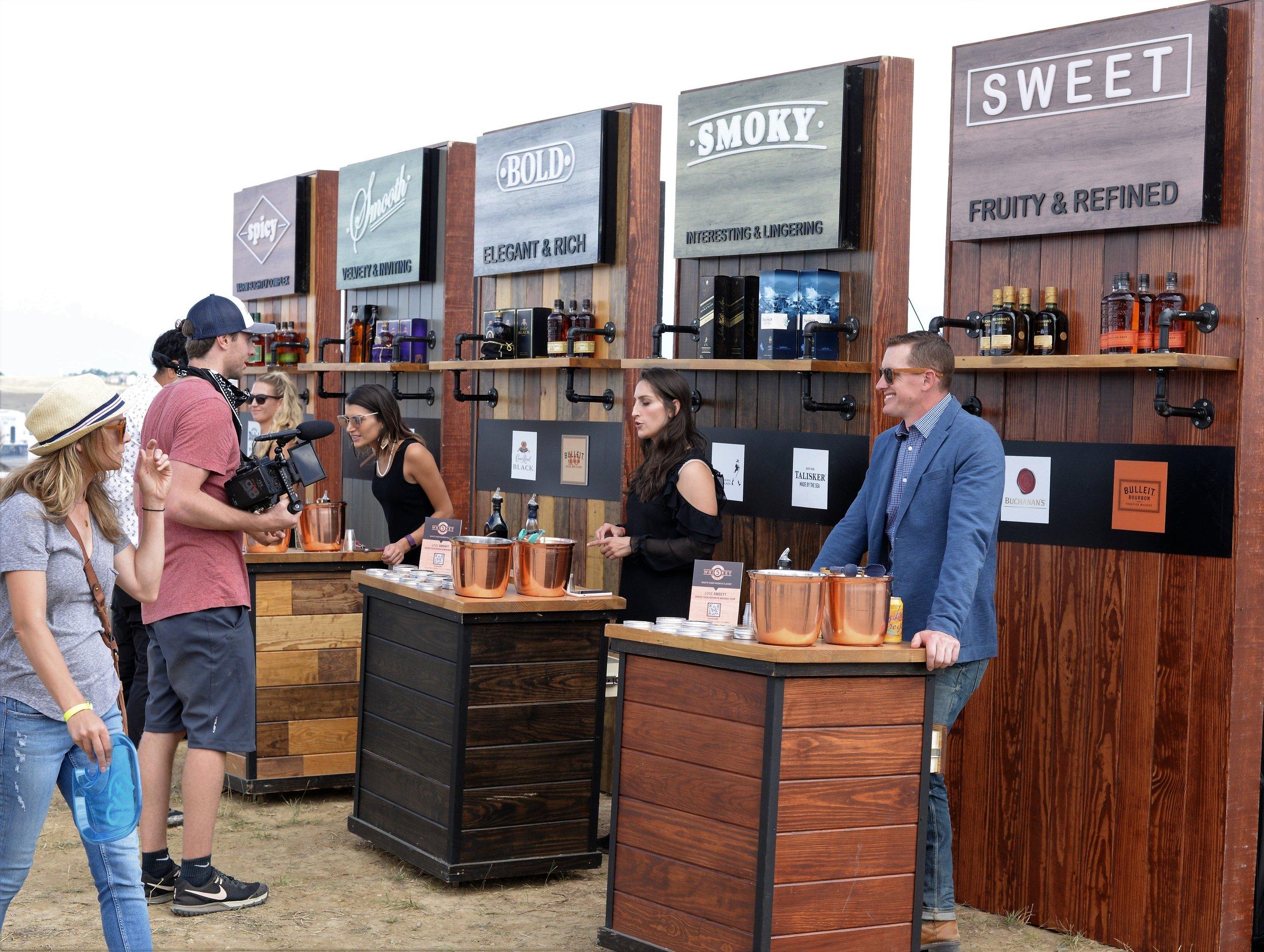 Whiskey & Bourbon tastings