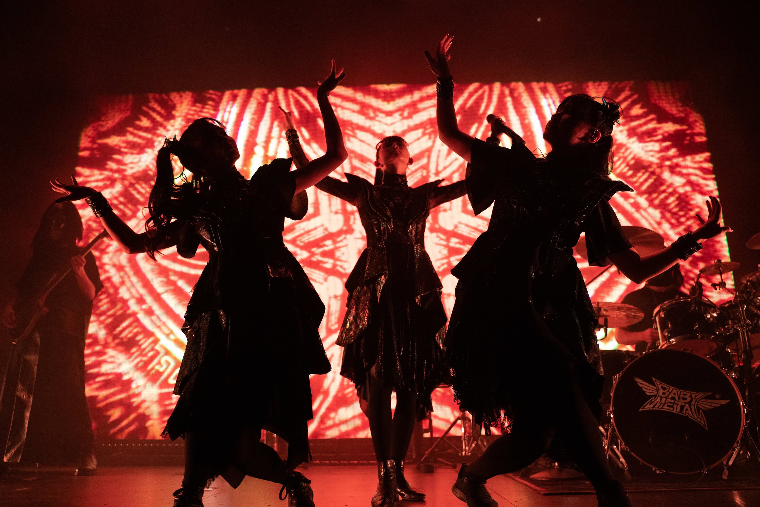 BABYMETAL (Photo Credit: Robert Castro)