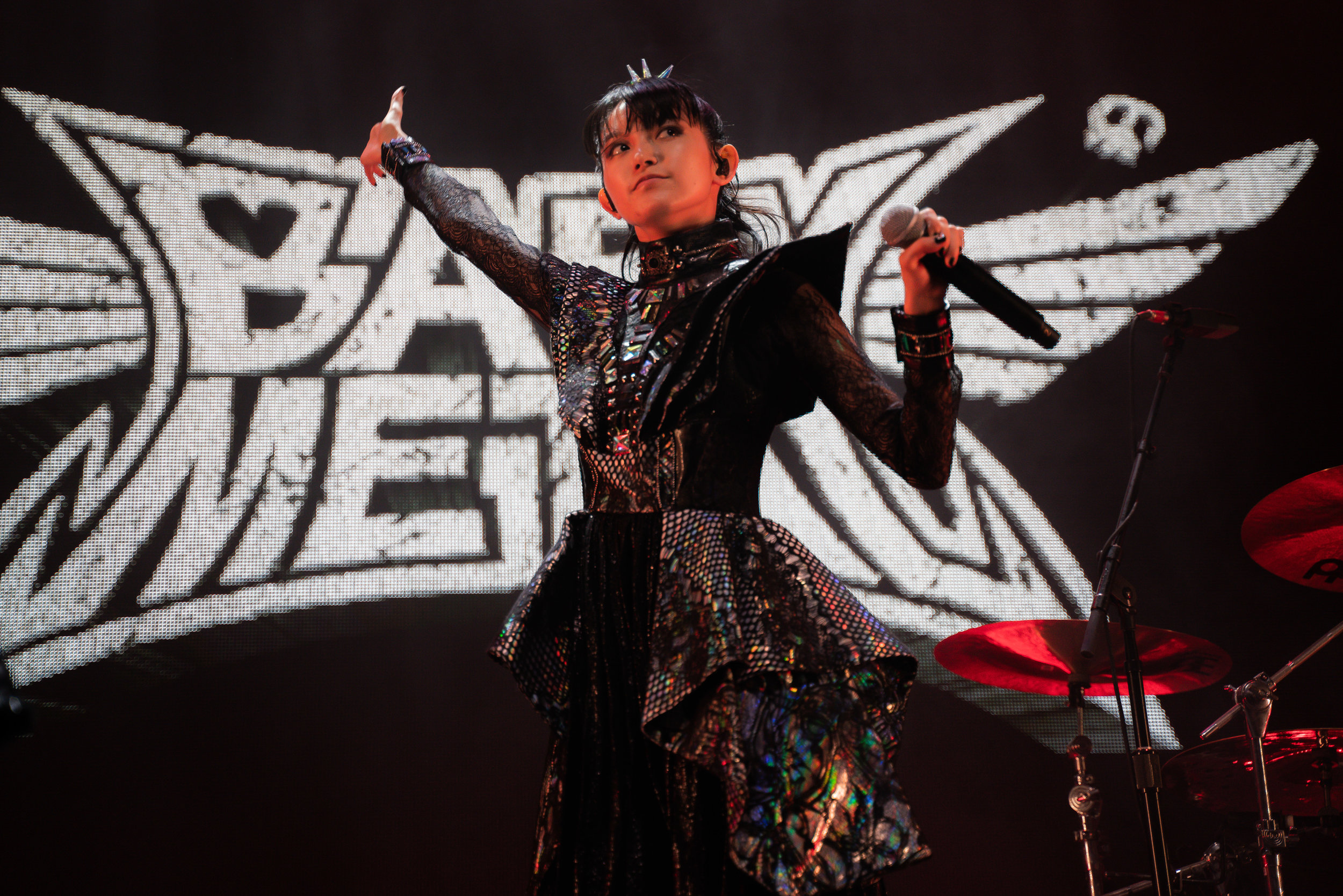 Suzuka Nakamoto of BABYMETAL (Photo Credit: Robert Castro)