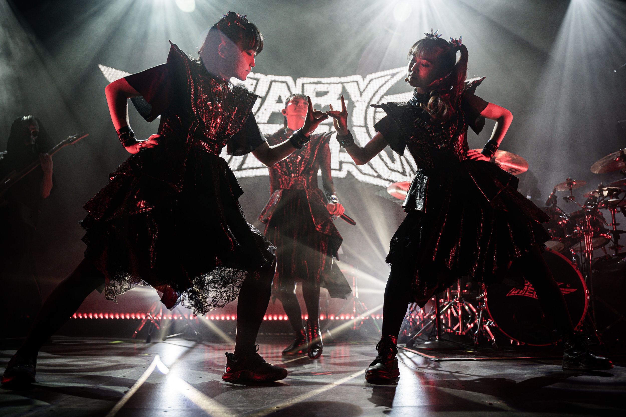 BABYMETAL performing at The Ogden Theatre (Photo Credit: Robert Castro)