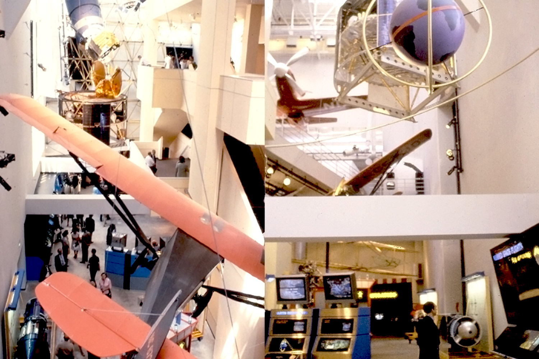 aerospace museum exhibition planning + designfor wetzel associates, los angeles, ca