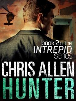 Action thriller novel Hunter by popular new Australian author Chris Allen.