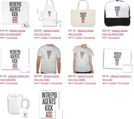 I ntrepid merchandise and range of gifts based on the popular action thriller book series by Australian author Chris Allen.
