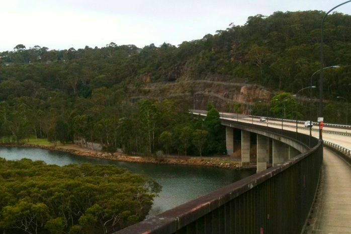 View from Roseville Bridge.