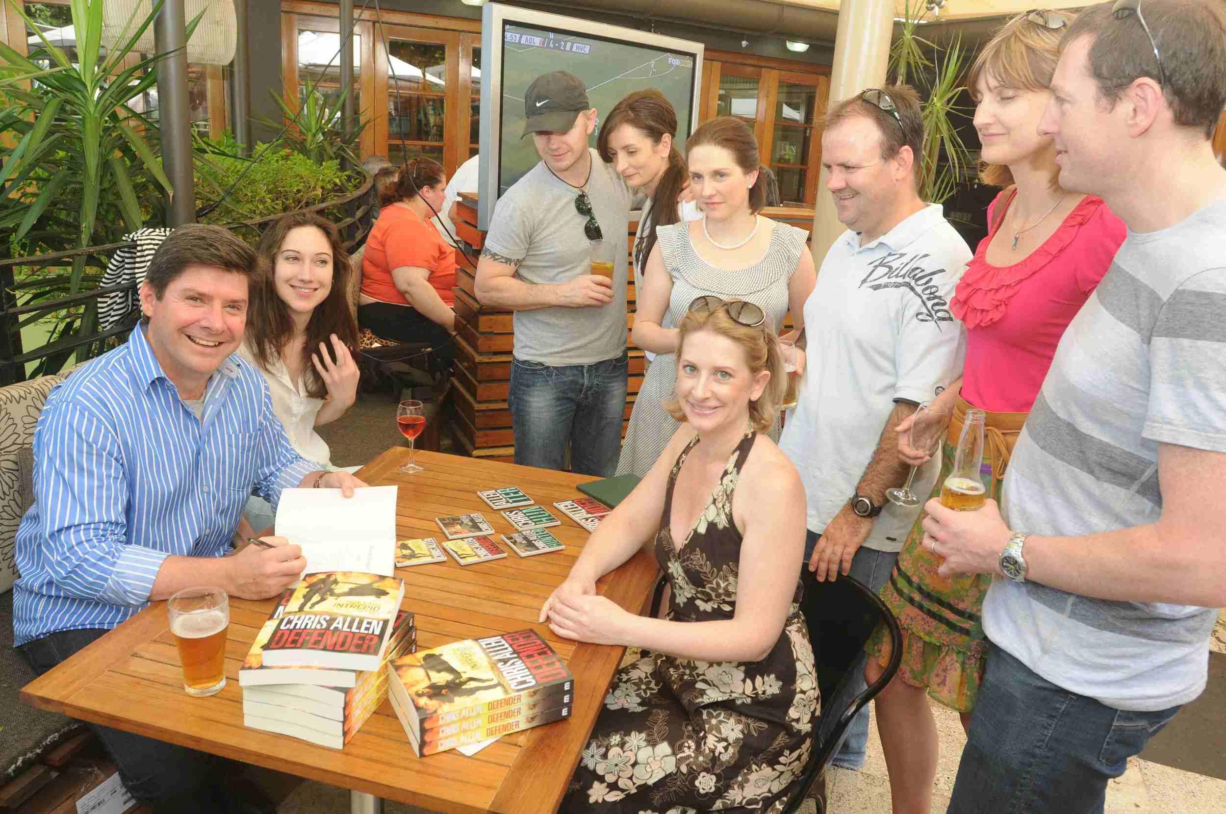 Hunter Book Launch @ Commodore Hotel