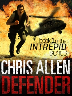 Action espionage and legal thriller Defender featuring Alex Morgan and Intrepid