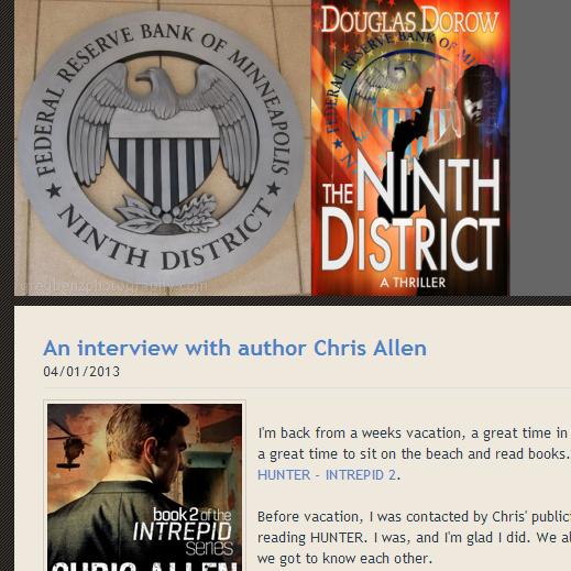 Douglas Dorow blog interview