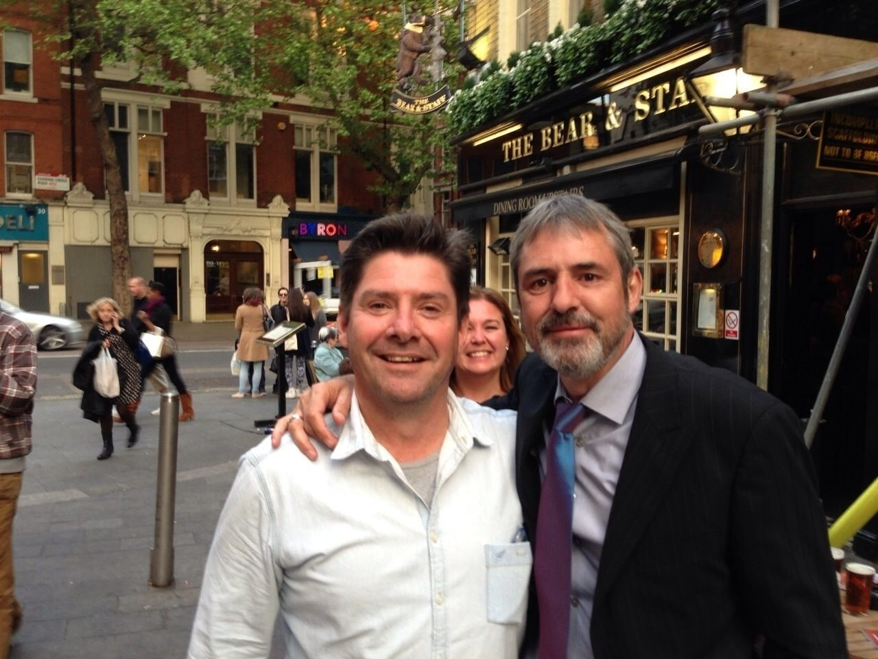 I was lucky to meet up with Neil Morrissey, the voice of Bob the Builder, one of the characters my three year old son adores.